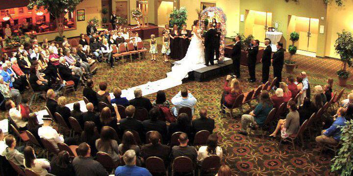 Holiday Inn Portland Airport wedding Portland