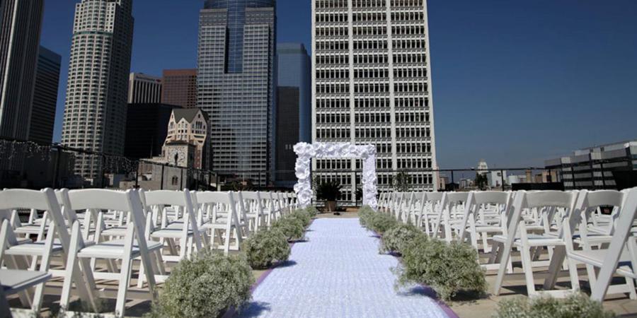 The Los Angeles Athletic Club wedding Los Angeles