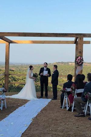 Hawk's Shadow Winery wedding Austin