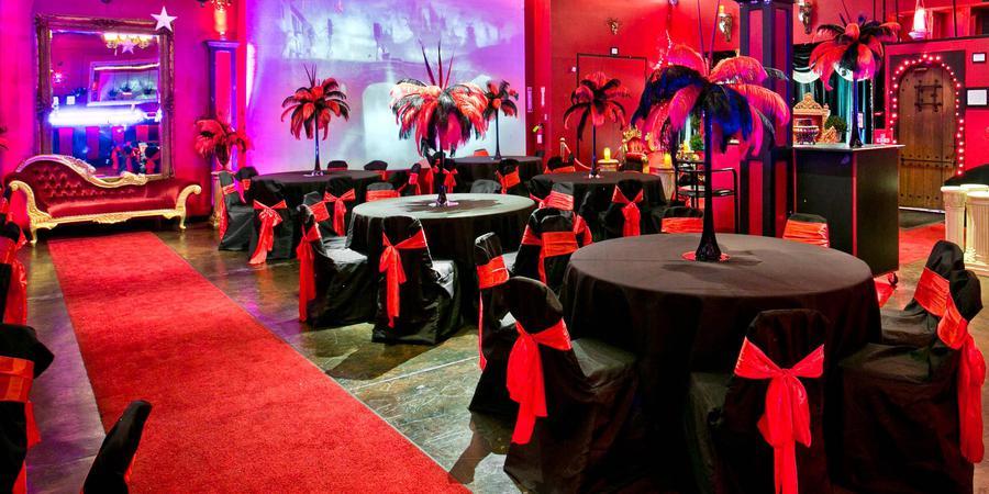 The Quixotic World Magical Event Space wedding Dallas