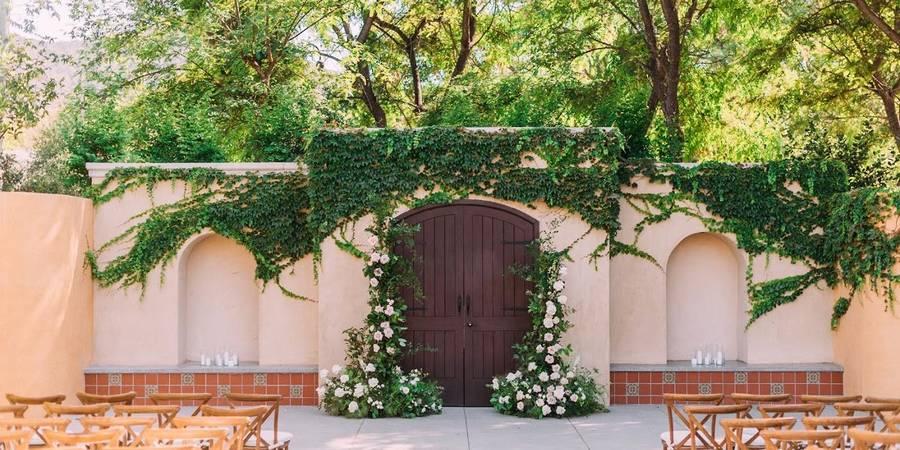 Los Robles Greens wedding Santa Barbara
