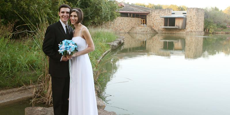 River Legacy Living Science Center wedding Dallas