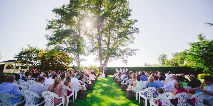 AtaVista Farm wedding Willamette Valley