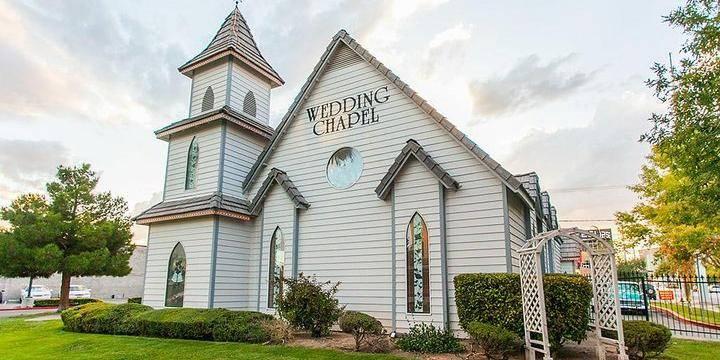 A Special Memory Wedding Chapel wedding Las Vegas