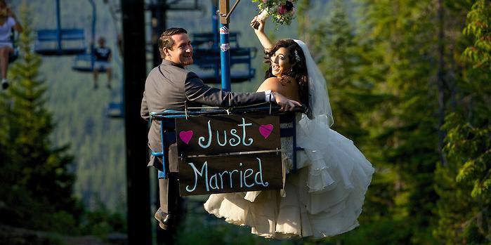 Mt. Hood Skibowl wedding Portland