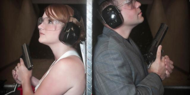 Shotgun Weddings by The Gun Store wedding Las Vegas