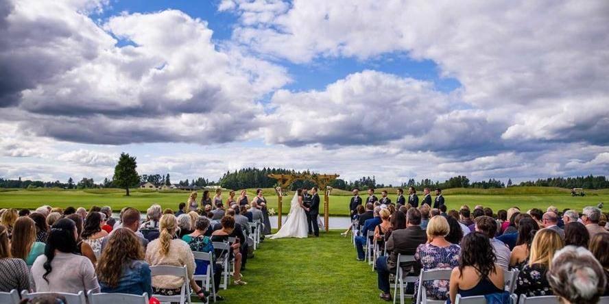 The Reserve Vineyards & Golf Club wedding Portland