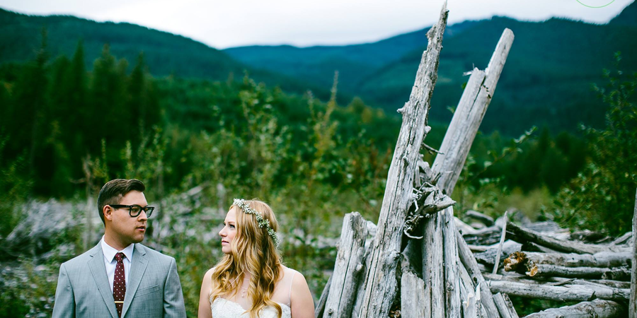 Nisqually Winds Mountain House wedding Tacoma