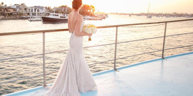 Hornblower Cruises Newport Beach wedding Orange County