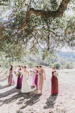 Flinn Springs County Park wedding San Diego