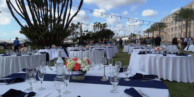 Waterfront Park wedding San Diego
