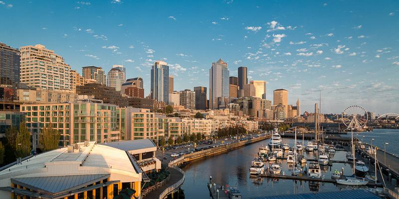 The Seattle Marriott Waterfront wedding Seattle