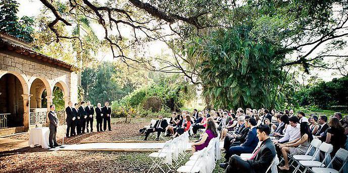The Ancient Spanish Monastery wedding Miami
