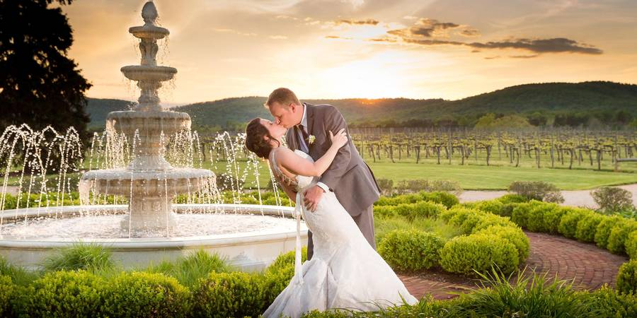 Keswick Vineyards wedding Charlottesville