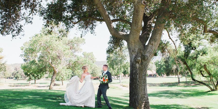 San Vicente Resort wedding San Diego