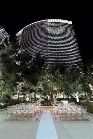 The Wedding Chapel at ARIA wedding Las Vegas