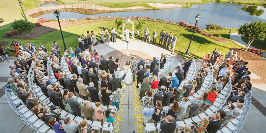 Regency at Dominion Valley wedding Northern Virginia