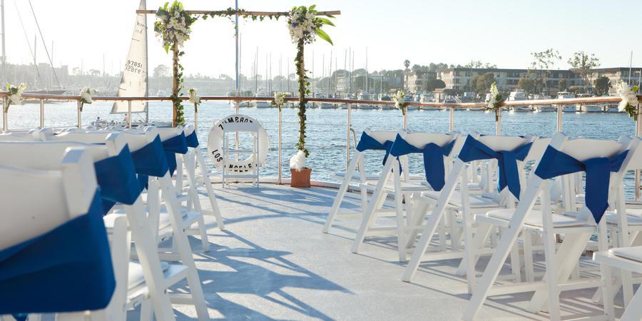 Hornblower Cruises Marina del Rey wedding Los Angeles