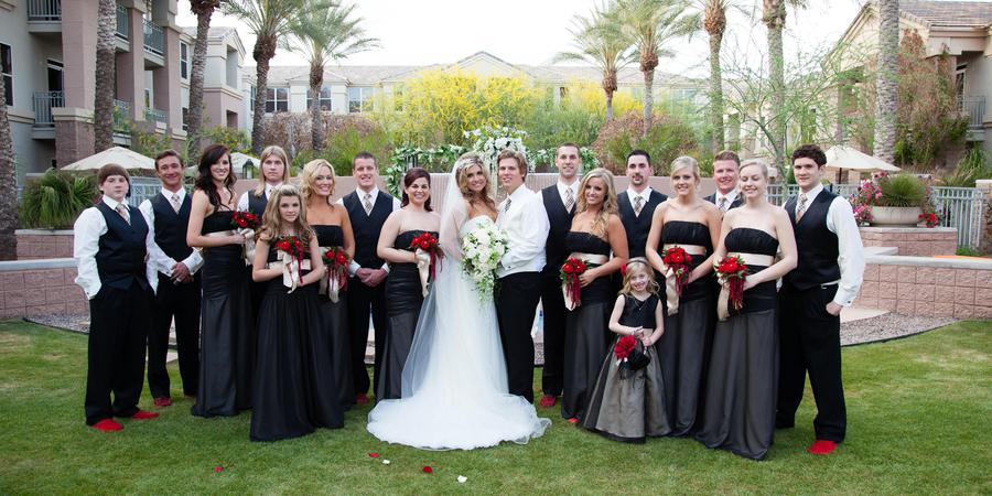 Gainey Suites Hotel wedding Phoenix/Scottsdale