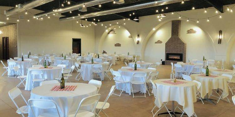The Grand Room at Kiepersol wedding Dallas