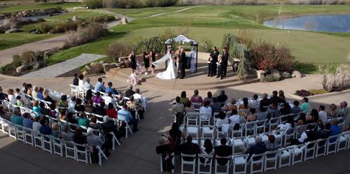 Toiyabe Golf Club wedding Lake Tahoe