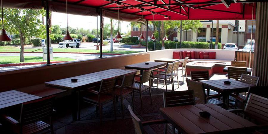 Half Moon Windy City Sports Grill Biltmore wedding Phoenix/Scottsdale