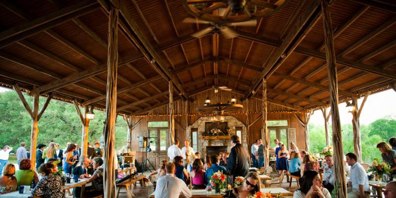 Gatehouse at Old Glory Ranch wedding Austin