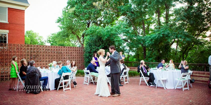 The McFarland House wedding Dallas