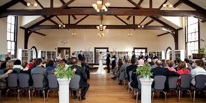Old Town Hall wedding Northern Virginia