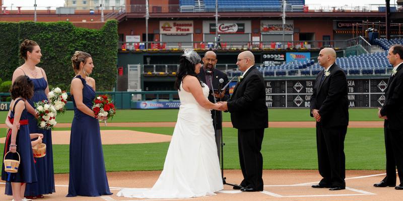 Citizens Bank Park wedding Philadelphia