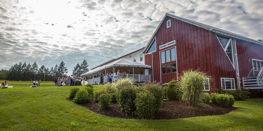 The Red Barn at Hampshire College wedding Central Massachusetts