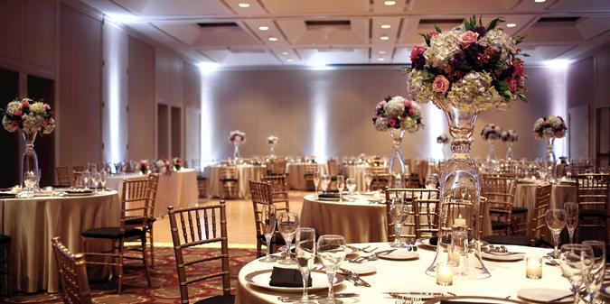 Hilton Boston Dedham Hotel wedding Boston