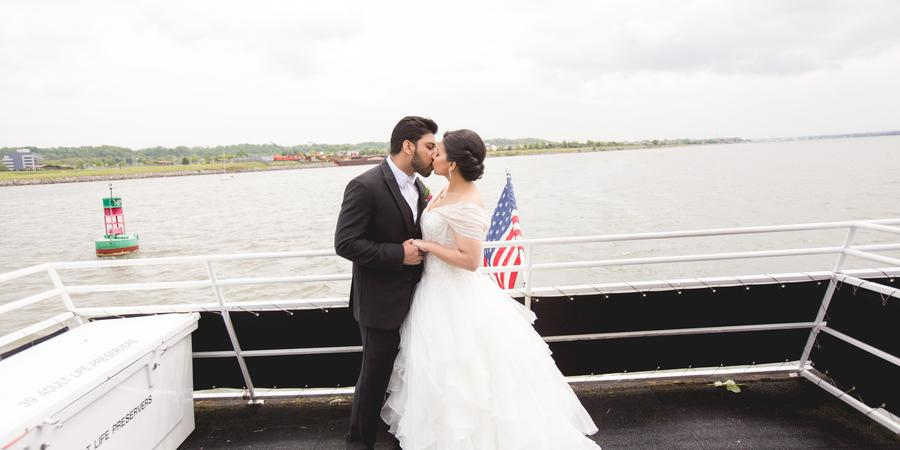 Elite Private Yachts wedding Washington DC