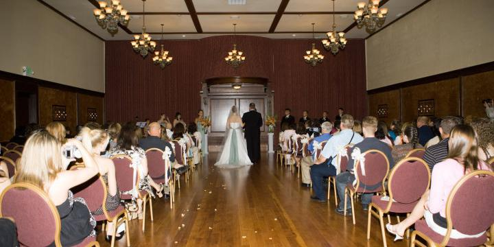 Antonia Ballroom wedding Portland