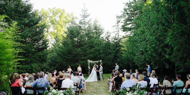 Clackamas River Farm wedding Portland