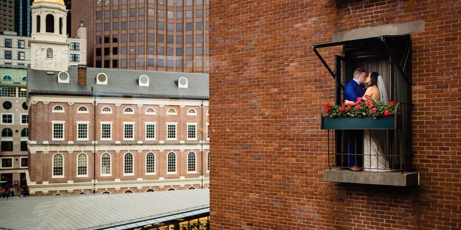 The Bostonian Hotel wedding Boston