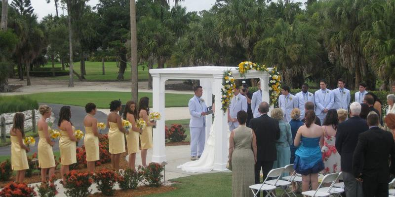 The Forest Country Club wedding Naples/Fort Myers