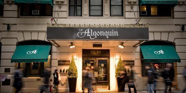 The Algonquin Hotel Times Square wedding Manhattan