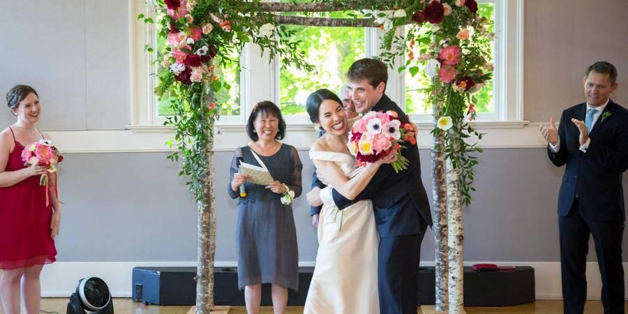 Mount Baker Community Clubhouse wedding Seattle
