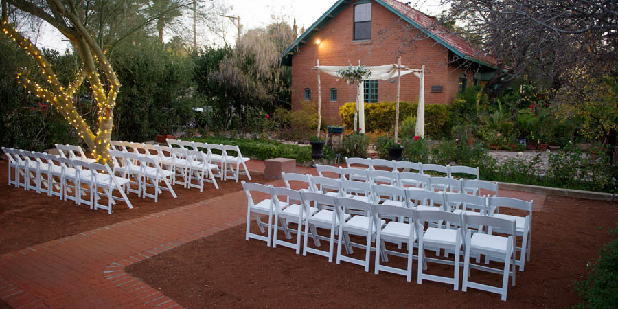 The Kingan Garden wedding Tucson