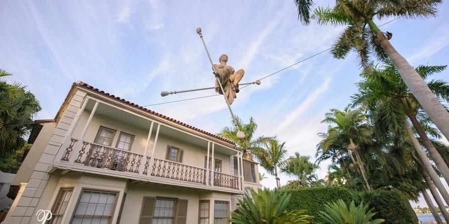 Ann Norton Sculpture Gardens wedding Boca Raton