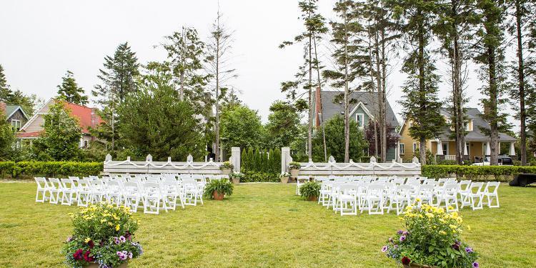 Seabrook Town Hall wedding Seattle