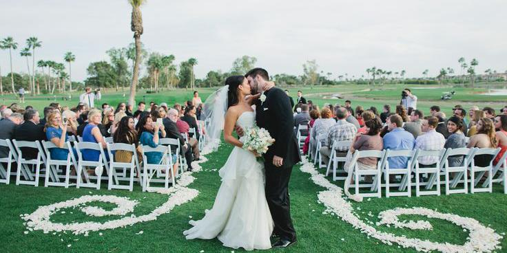McCormick Ranch Golf Club wedding Phoenix/Scottsdale