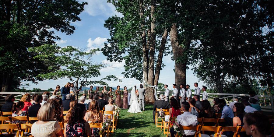 James Monroe's Highland wedding Charlottesville