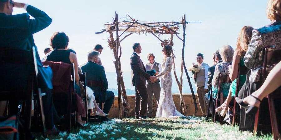 Blue Mountain Lodge wedding Northern Virginia