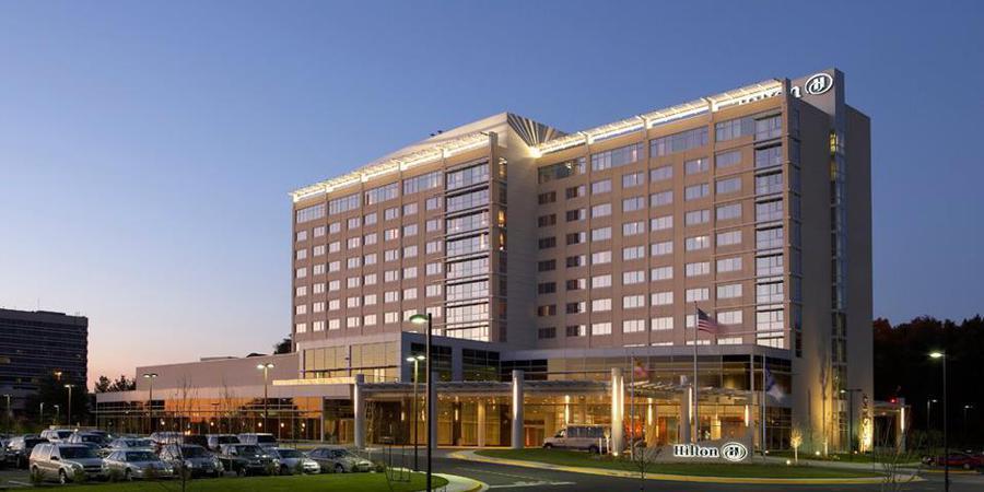 Hilton Baltimore BWI Airport Hotel wedding Baltimore