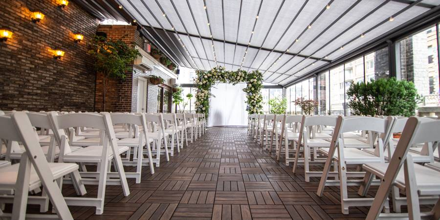 Midtown Loft & Terrace wedding Manhattan