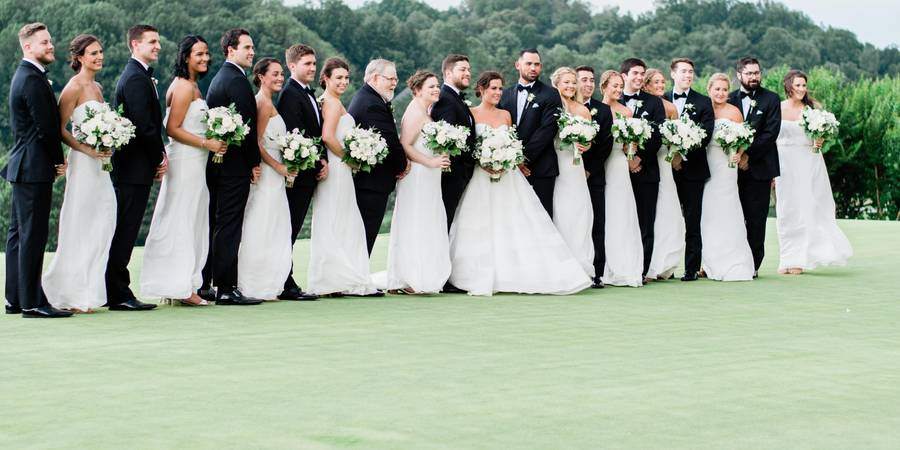 Hunt Valley Country Club wedding Baltimore