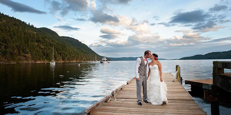 Rosario Resort & Spa wedding Everett