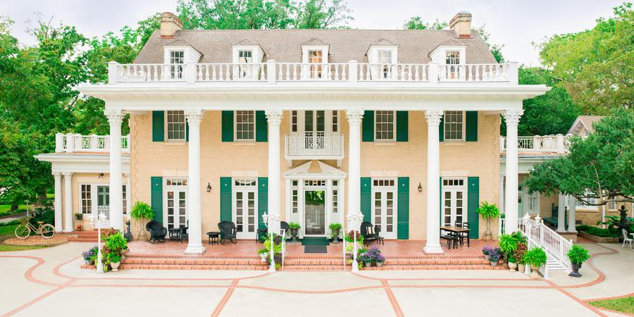 The Gardens at Madeley Manor wedding Houston